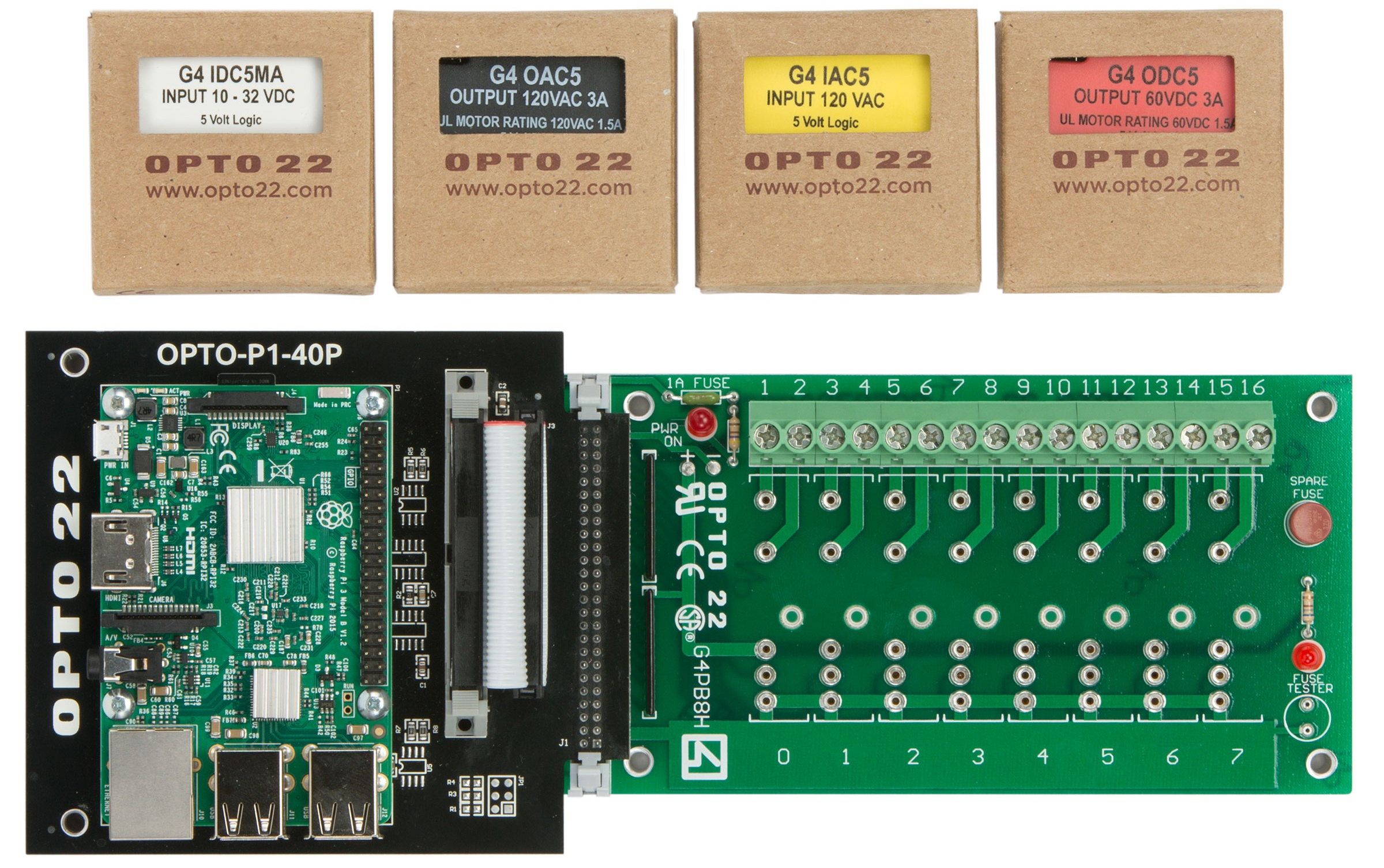 Starter kit with modules