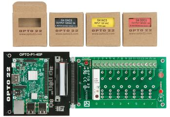 Starter kit with module removed from box