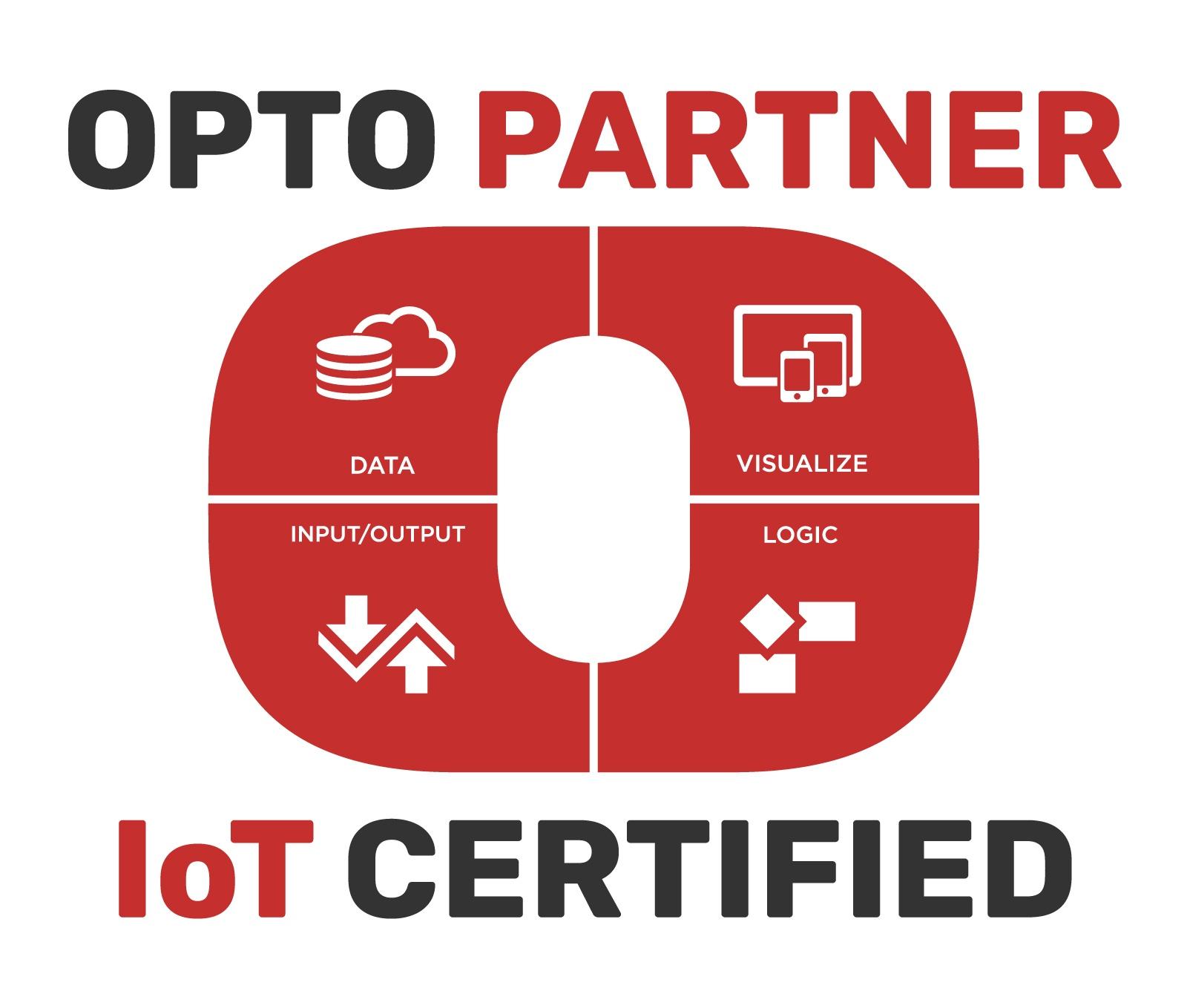 IoT Certified OptoPartner logo
