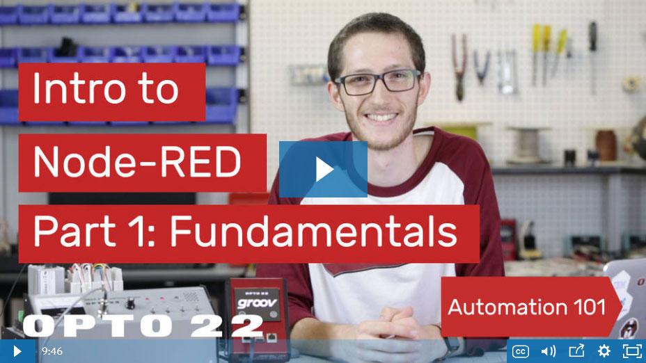 Node-RED Workshop videos