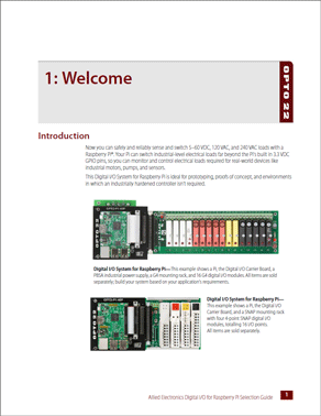 Digital I/O for Raspberry Pi Selection Guide