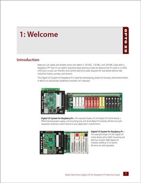 Digital I/O for Raspberry Pi Selection Guide
