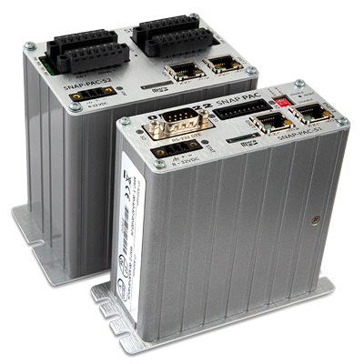 SNAP PAC S-series programmable automation controllers for the Internet of Things
