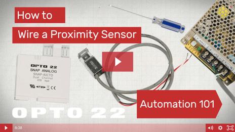 Video: Wire a proximity sensor